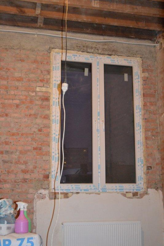 Ремонт спальни  1. Стены, пол, электрика. 018