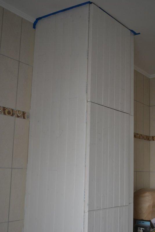 Шкаф в ванной комнате. 014