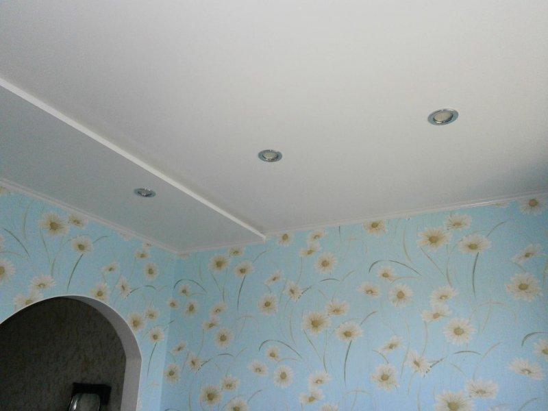 7 Потолок из сэндвич панелей ПВХ ( фото 7 )