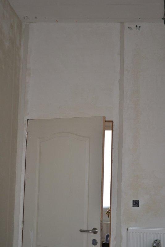 Ремонт кухни. Стены, пол, электрика. 031