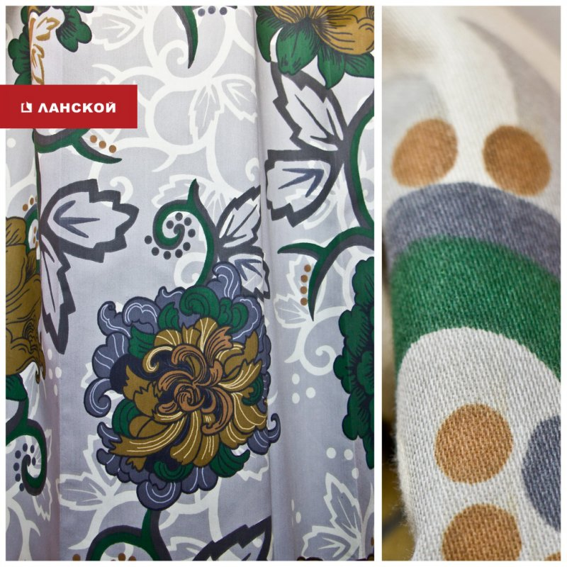 шведские ткани для пошива штор