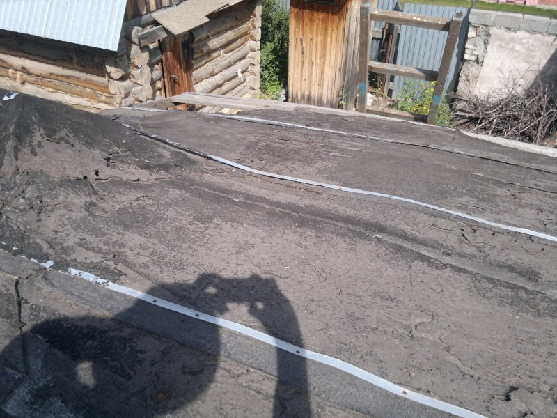 Крыша пристройки 4.