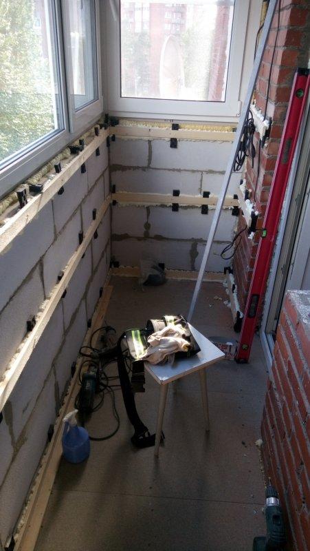Отделка балкона от СБК-ремонт 22