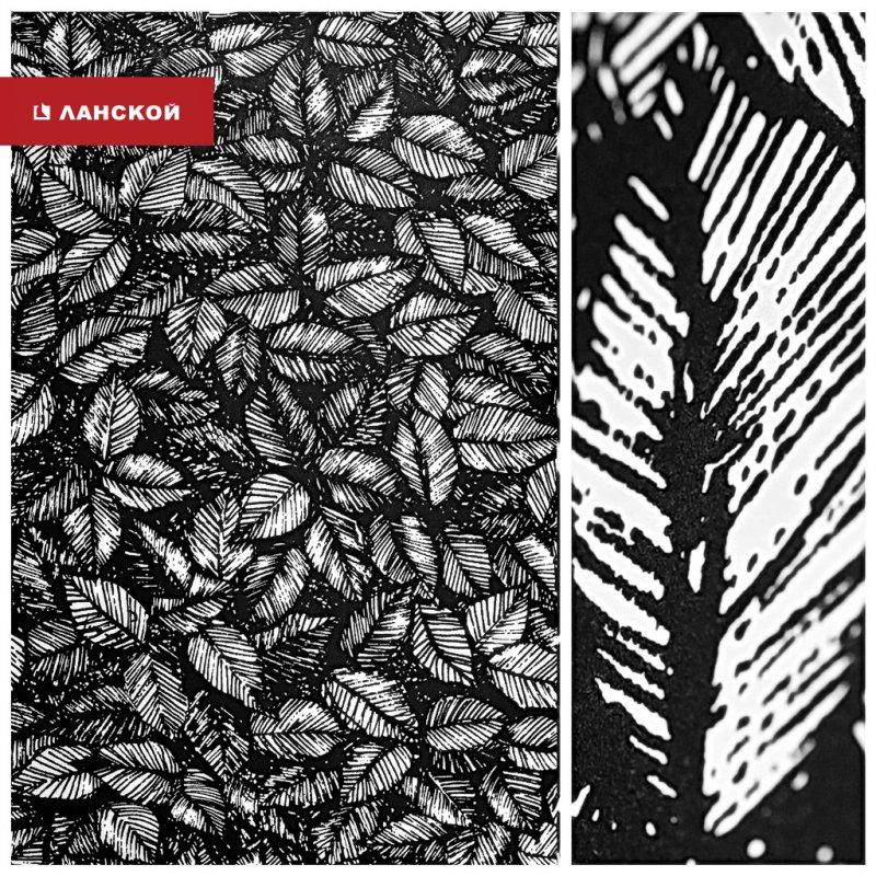 обои для создания черно-белого интерьера