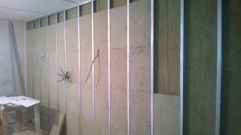 Звукоизоляция ГКЛ + ГВЛ. Квартира в Химках.