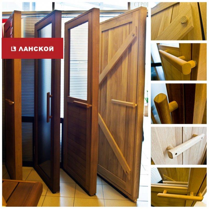 двери из массива для бани и сауны в ТК Ланской