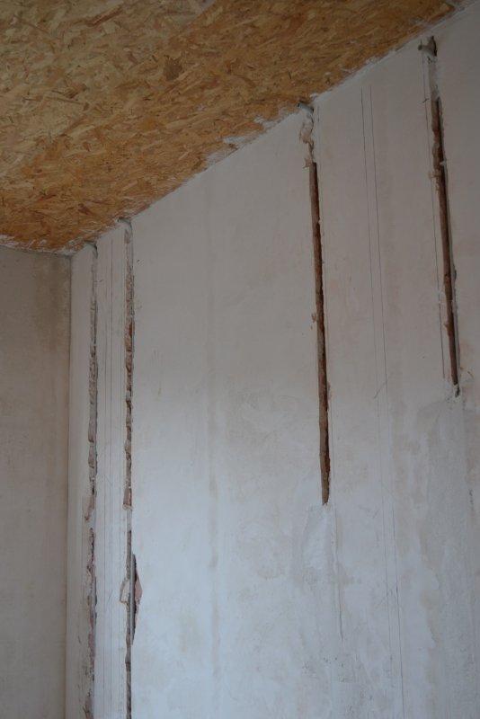 Ремонт спальни 2. Пол и стены. 028