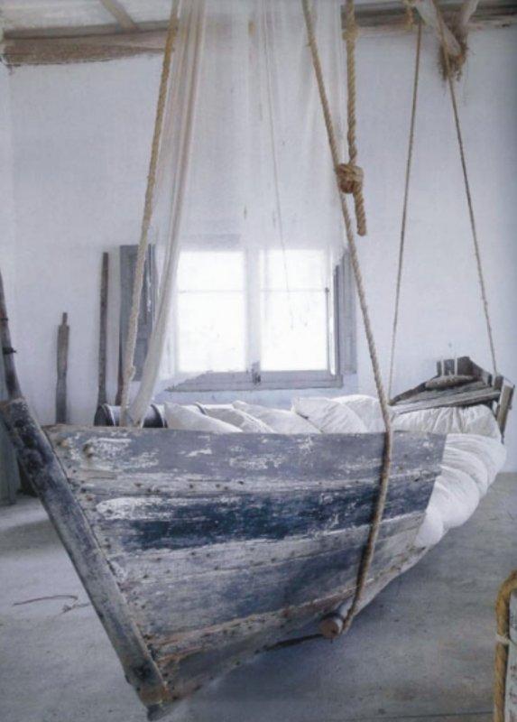 Лодка-кровать