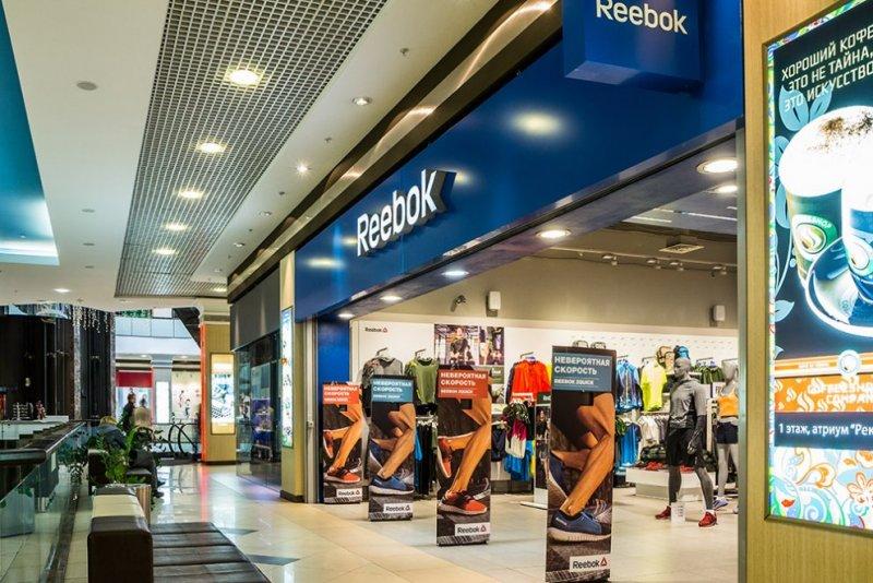 Отделка магазина Reebook