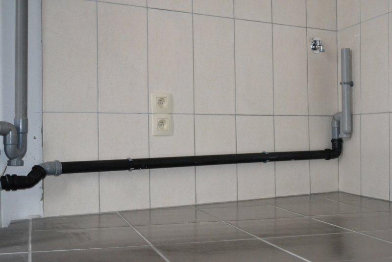 Ремонт ванной комнаты. Пол и стены. 030