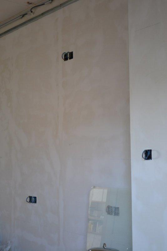 Ремонт кухни. Стены, пол, электрика. 042