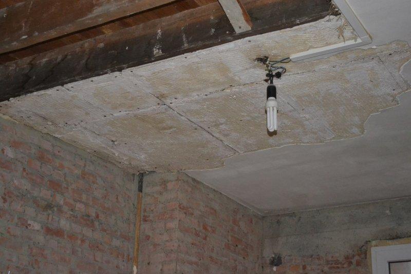 Ремонт на кухне. Потолок. 002