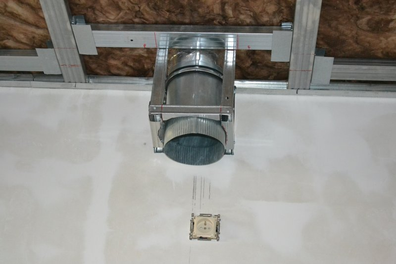 Ремонт на кухне. Потолок. 014