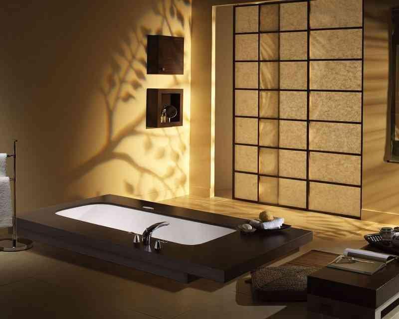 Ванная в японском стиле