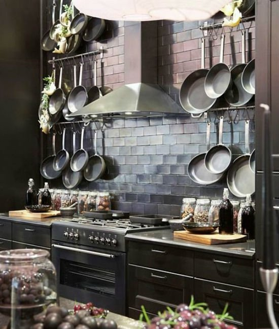 Лофт со сковородками