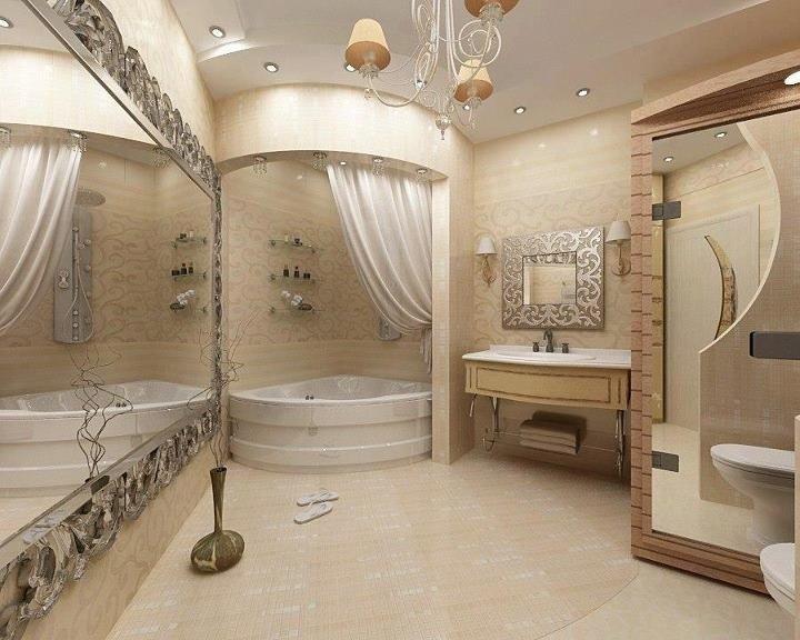 Стильный дизайн ванны