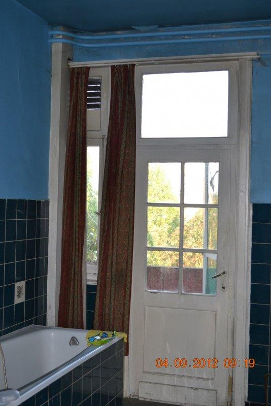 Ремонт ванной комнаты. Пол и стены. 008