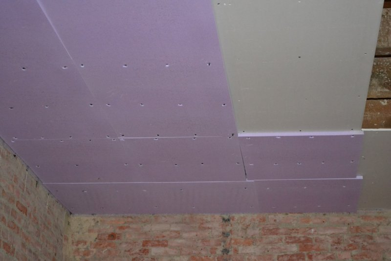 Ремонт на кухне. Потолок. 005
