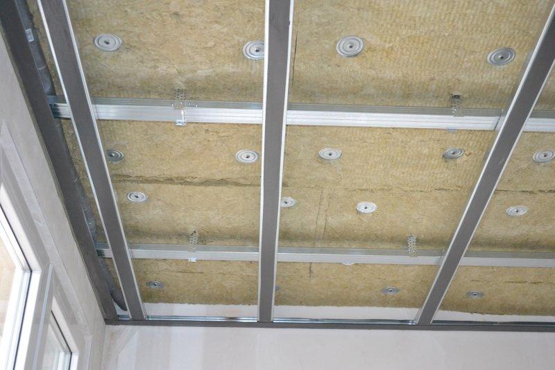 Ремонт спальни 1. Потолок 024