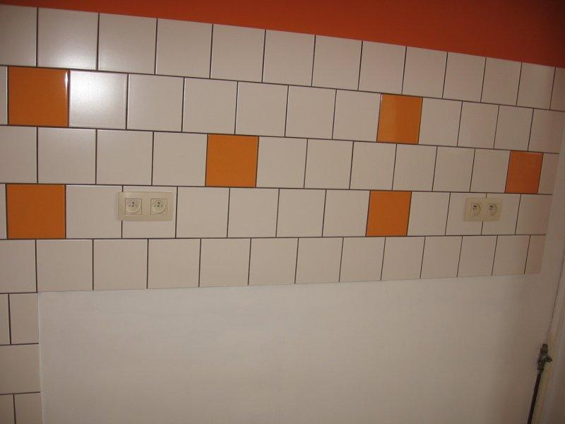 Ремонт кухни. Стены, пол, электрика. 071