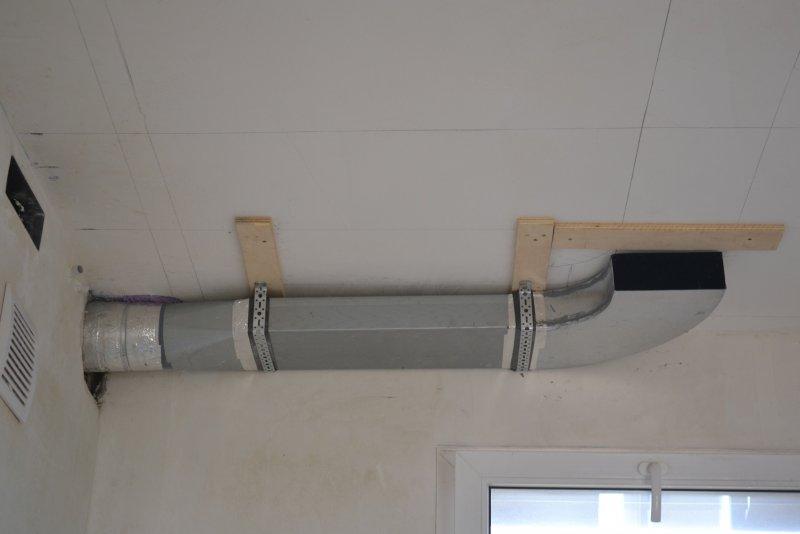 вентиляция для кухонной вытяжки 024