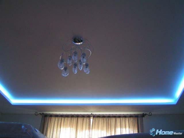 0002 Потолк из гипсокартона с подсветкой