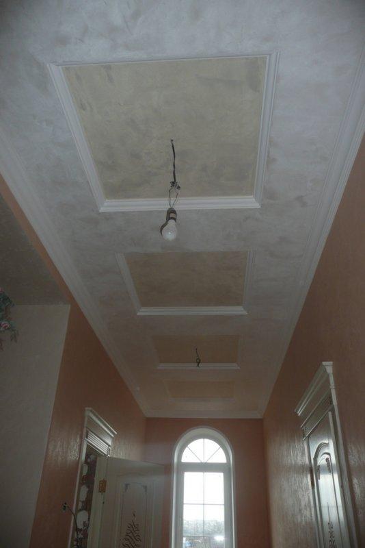 потолок коридор015