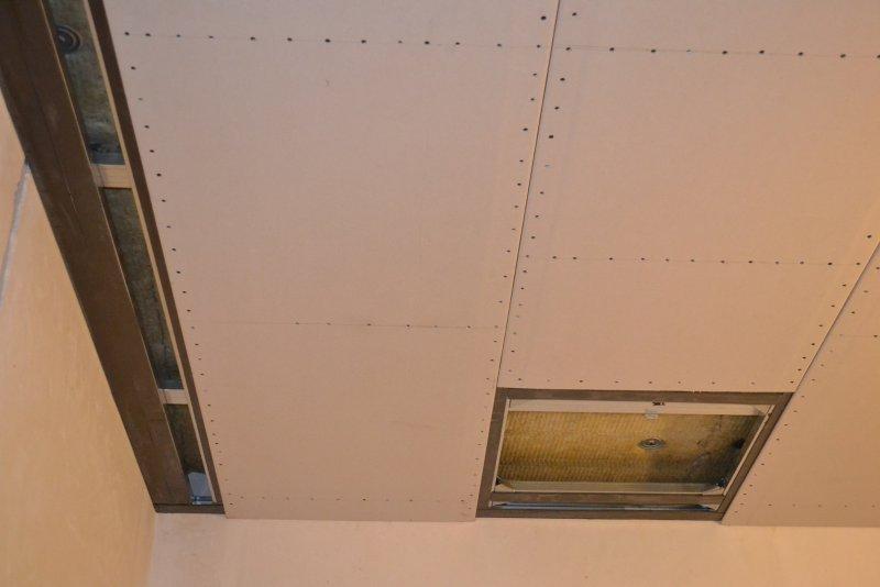 Ремонт спальни 1. Потолок 040