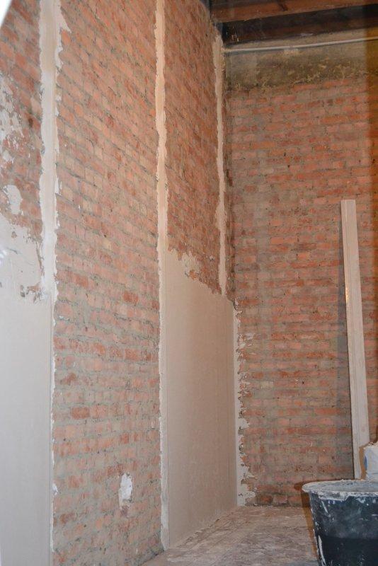 Ремонт спальни  1. Стены, пол, электрика. 022