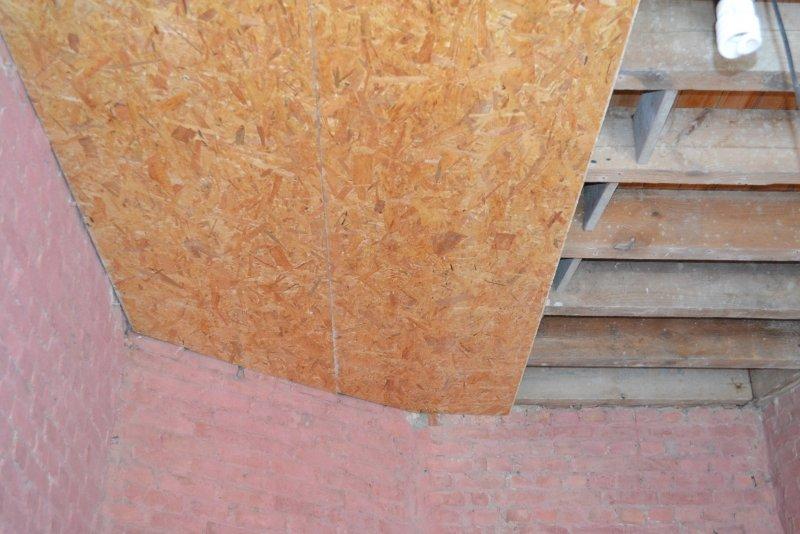 Ремонт в спальне 2. Потолок 006