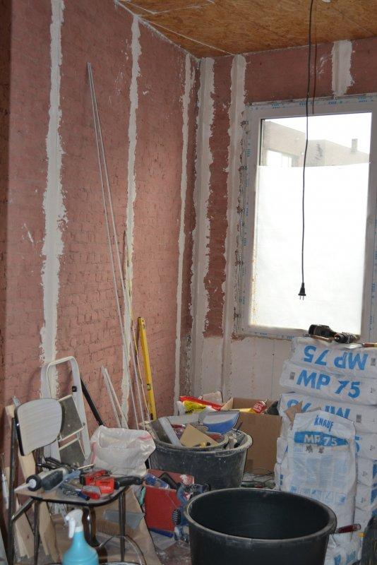 Ремонт спальни 2. Пол и стены. 012