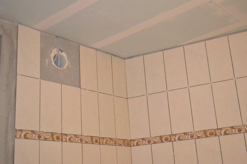 Ремонт ванной комнаты. Пол и стены. 024