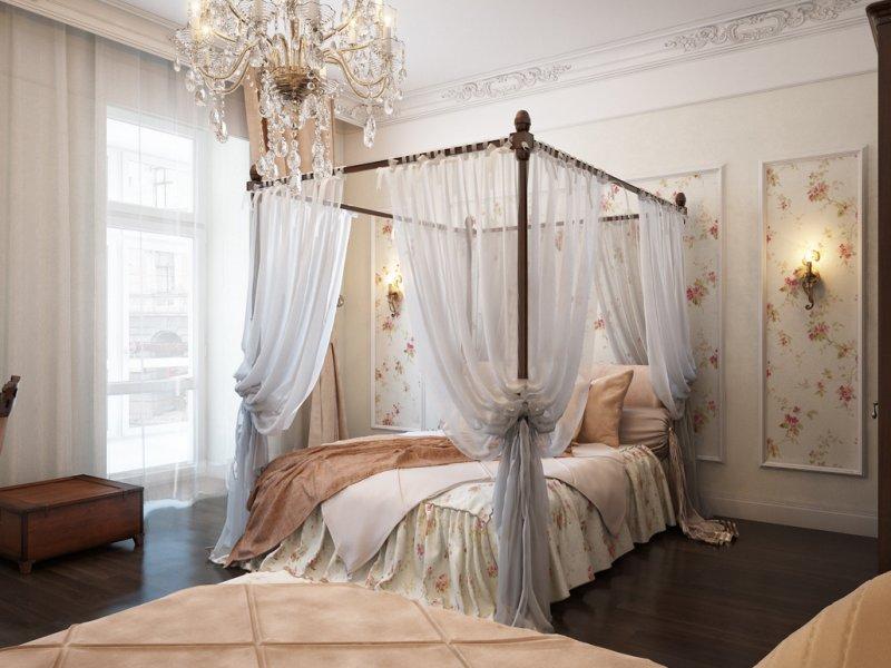 Cпальня с «балдахином»