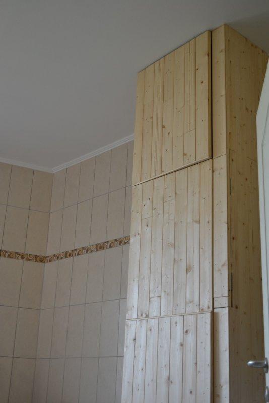 Шкаф в ванной комнате. 007
