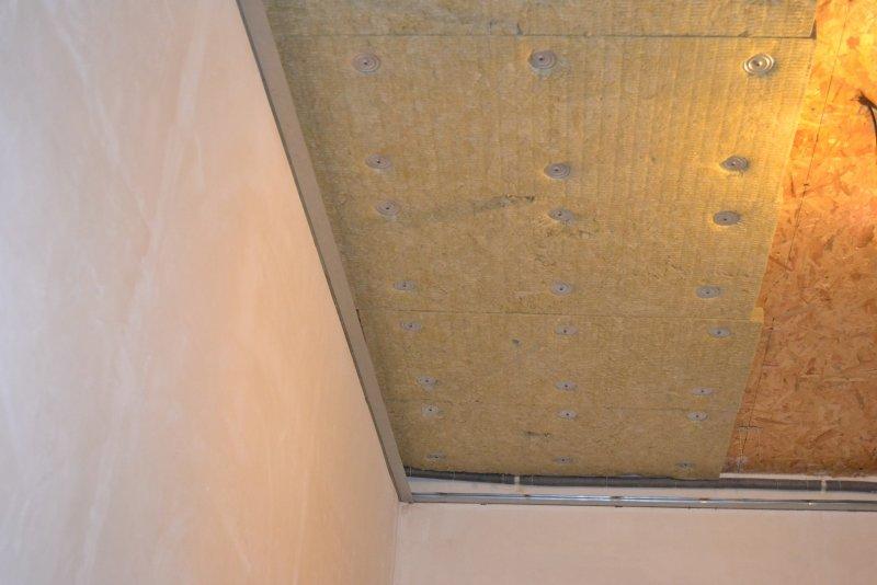 Ремонт спальни 1. Потолок 018