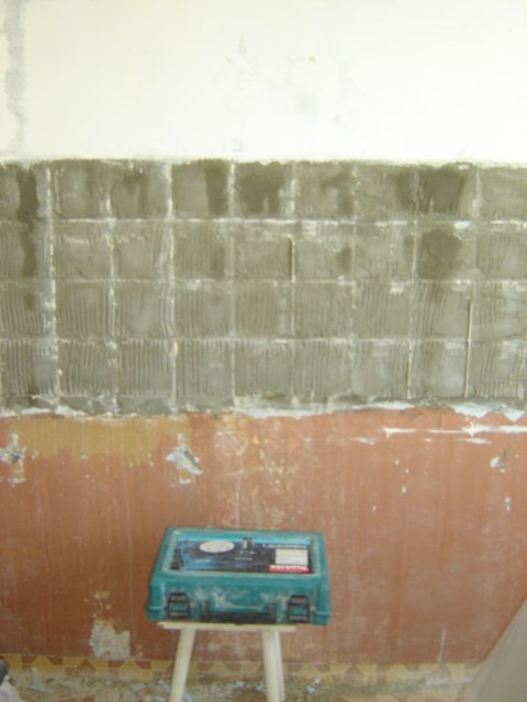 Краска на бетонной стене