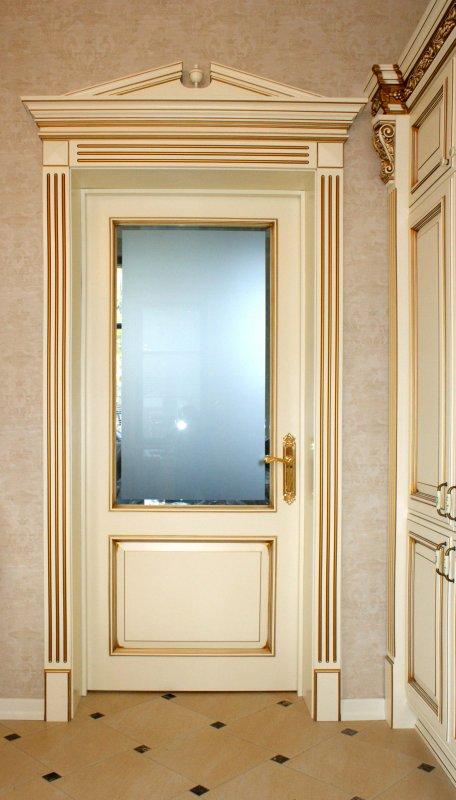 Фото межкомнатной двери Альберт цвета слоновой кости от Роял Интерни