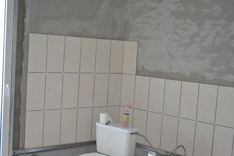 Ремонт ванной комнаты. Пол и стены. 021