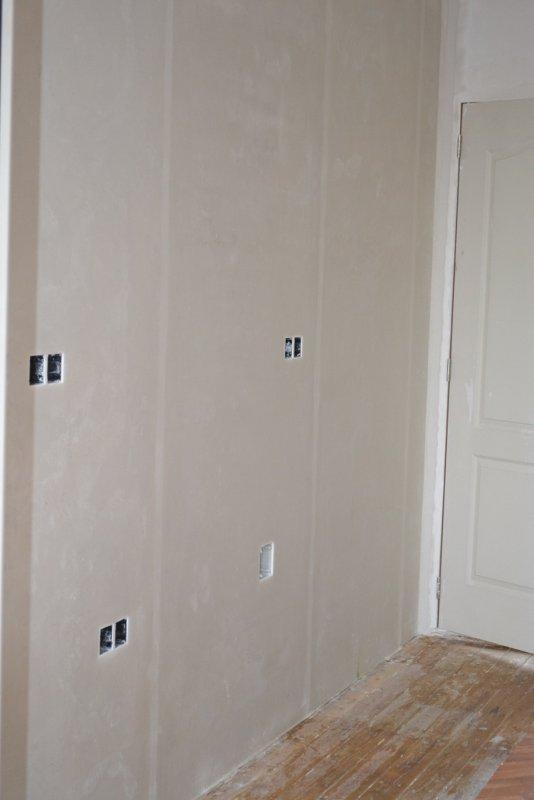 Ремонт кухни. Стены, пол, электрика. 029