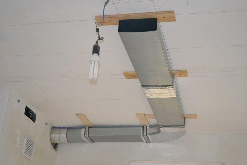 вентиляция для кухонной вытяжки 029