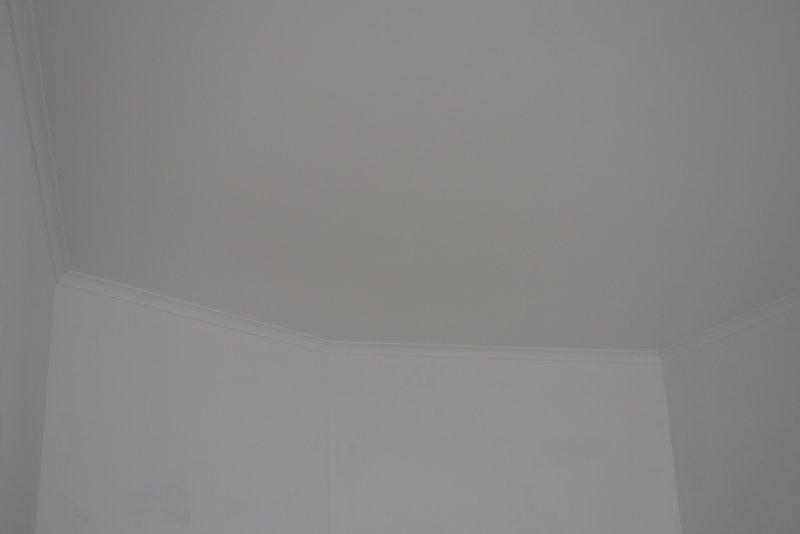 Ремонт в спальне 2. Потолок 034