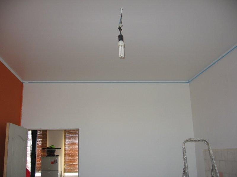 Ремонт кухни. Стены, пол, электрика. 064