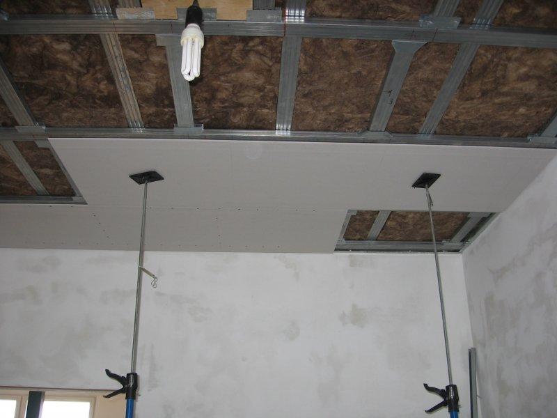 Ремонт на кухне. Потолок. 018