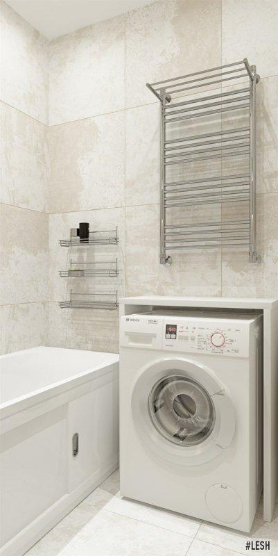 Поместилась стиральная машинка | Butlerova - 69м.
