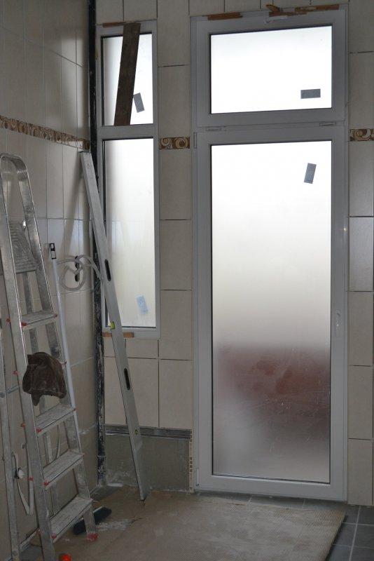 Ремонт ванной комнаты. Пол и стены. 028