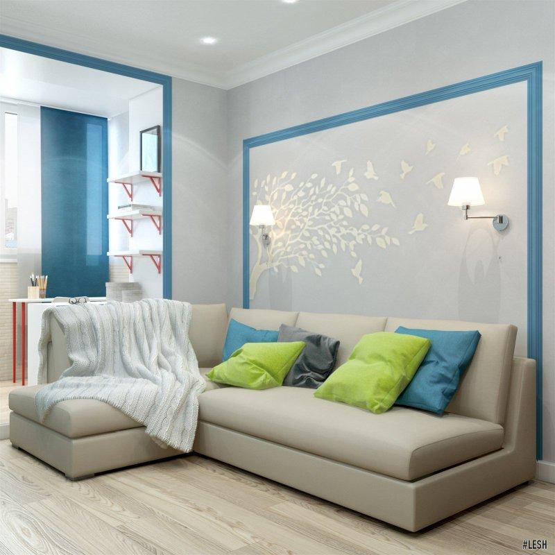 Угловой диван в детской | Butlerova - 69м.