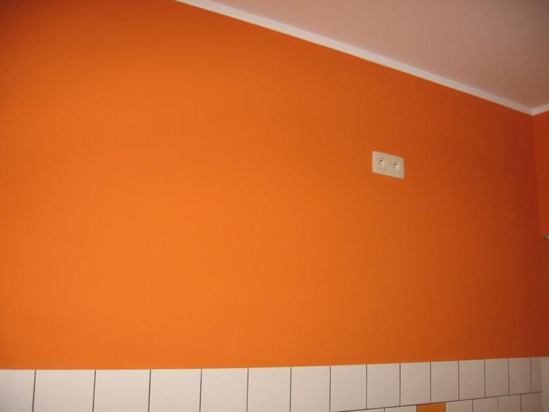 Ремонт кухни. Стены, пол, электрика. 070