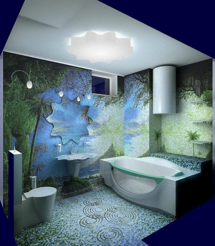 Тропическая ванная