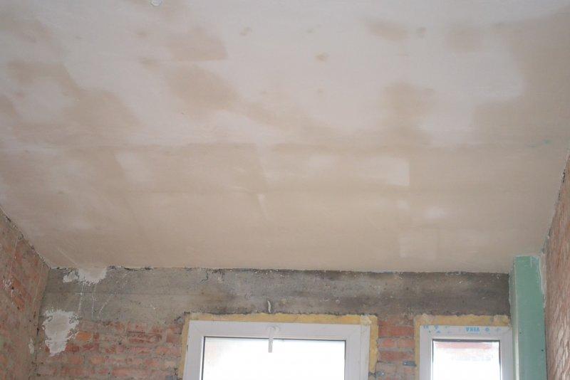 Ремонт на кухне. Потолок. 010