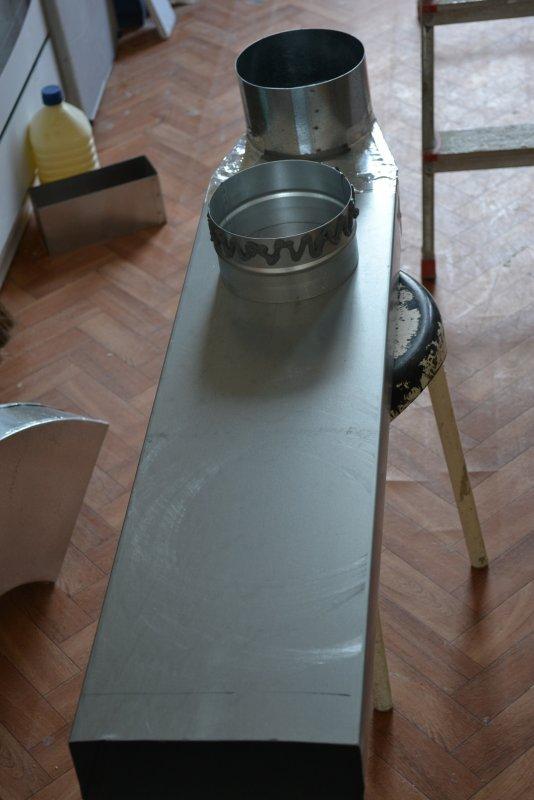 вентиляция для кухонной вытяжки 031